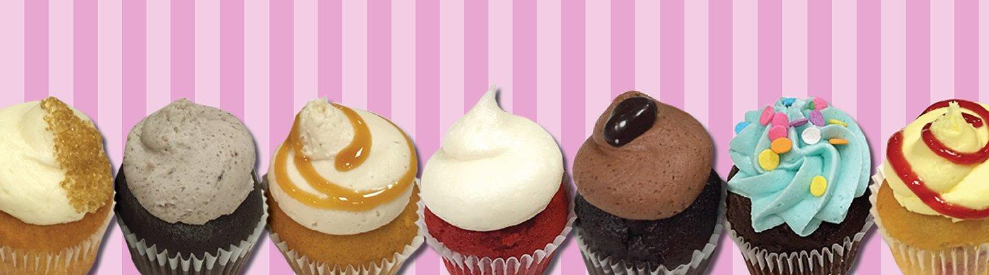 Website Banner - Mini Cupcakes