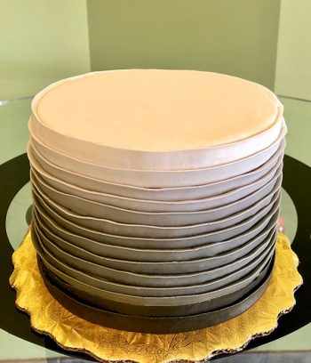 Country Ribbon Ombre Layer Cake - Brown