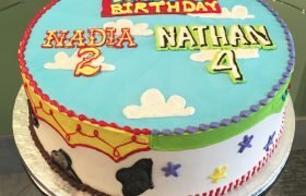 Toy Story Layer Cake