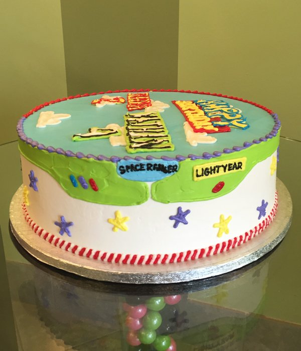 Toy Story Layer Cake - Buzz Lightyear