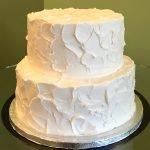 Stucco Tiered Cake