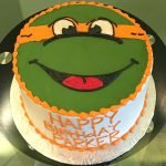 Ninja Turtle Layer Cake