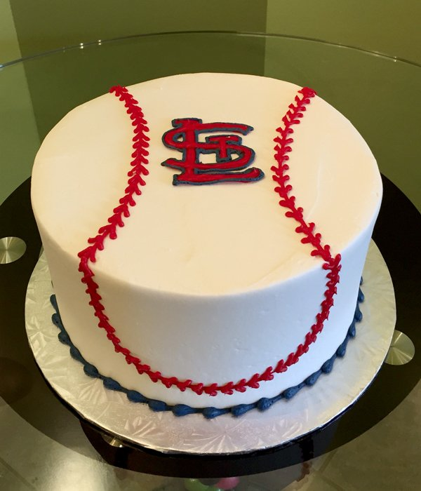 Sports Team Layer Cake - St. Louis Cardinals