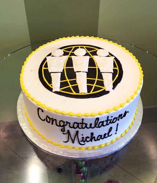 Company Logo Layer Cake