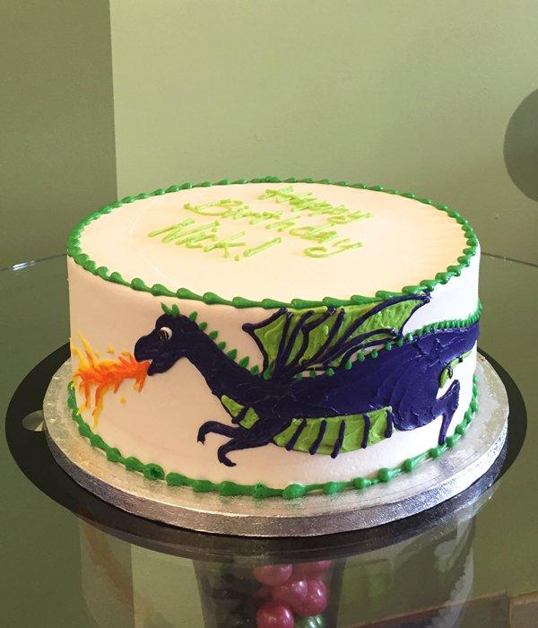 Dragon Layer Cake – Classy Girl Cupcakes