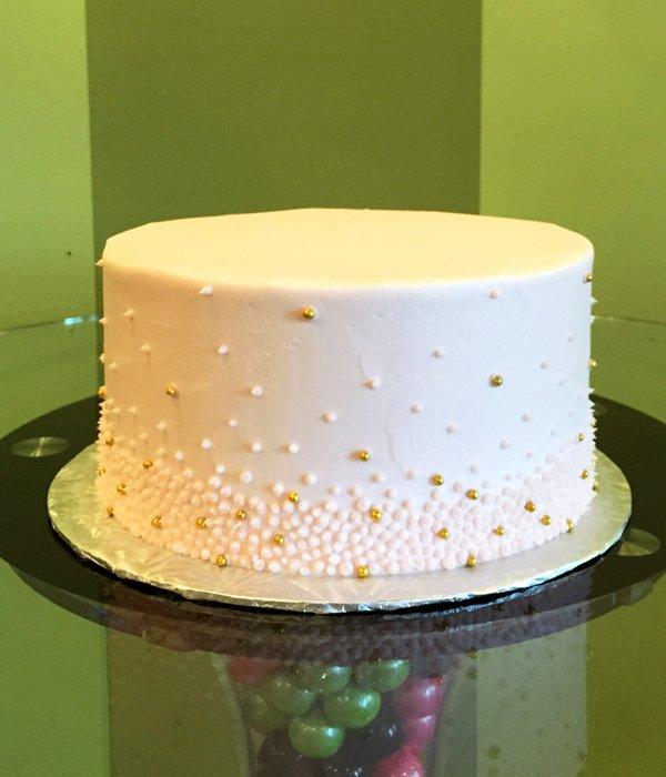 Giselle Layer Cake - Blush Pink & Gold