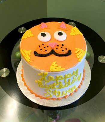 Kitty Layer Cake - Orange