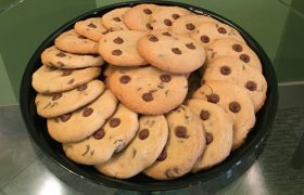 Chocolate Chip Cookie Party Tray