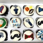 Father's Day Decorated Cupcakes