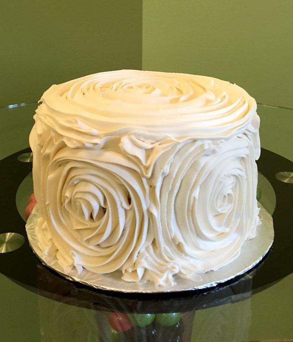 Giant Rosette Layer Cake Classy Girl Cupcakes