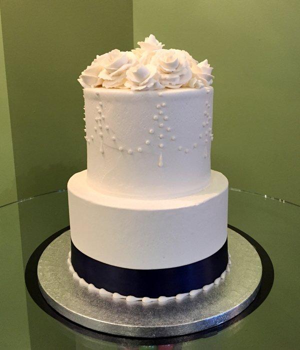 Teardrop Chandelier Tiered Cake