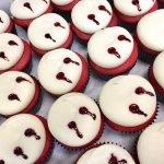 Vampire Blood Cupcakes