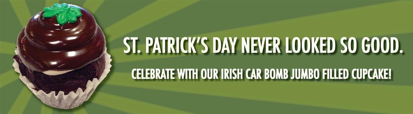 St. Patrick's Day Website Banner