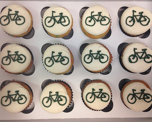 Bicycle Cupcakes