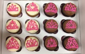 Princess Tiara Cupcakes