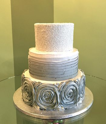 Lisette Wedding Cake - Grey