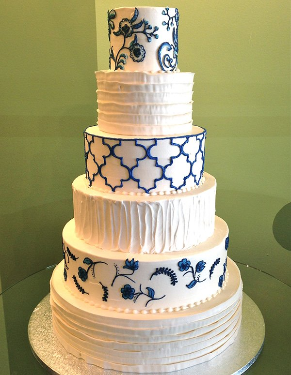 Willow Wedding Cake