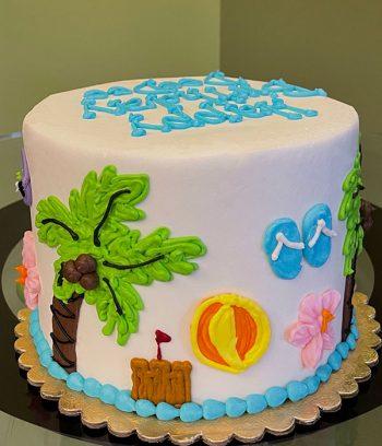 Beach Layer Cake - Side