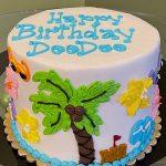 Beach Layer Cake - Top