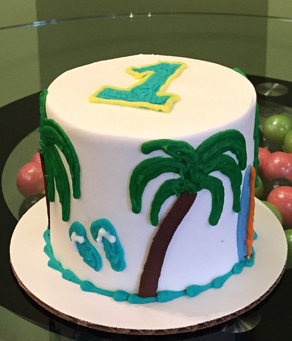 Beach Layer Cake