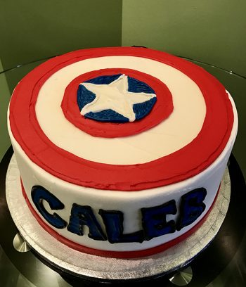 Captain America Layer Cake - Top
