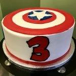 Captain America Layer Cake