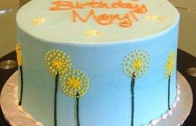Dandelion Layer Cake