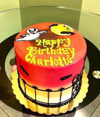 Halloween Ghost Layer Cake