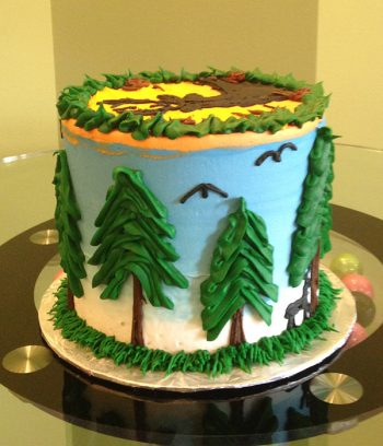 Hunting Layer Cake - Back