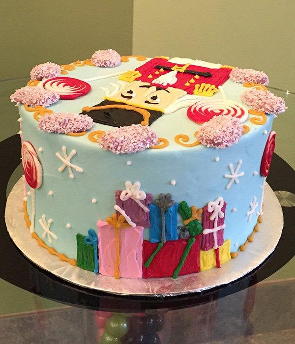 Nutcracker Layer Cake - Back