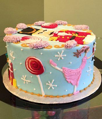 Nutcracker Layer Cake - Side