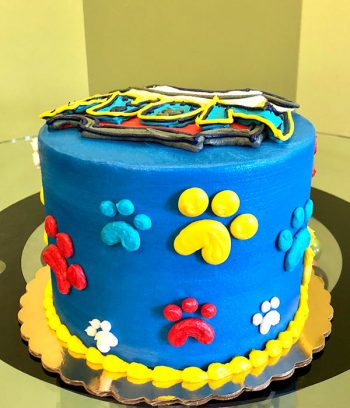 Paw Patrol Layer Cake - Side