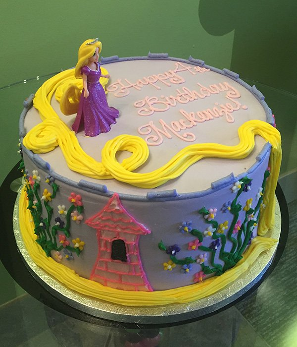 Rapunzel Layer Cake - Side