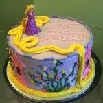 Rapunzel Layer Cake