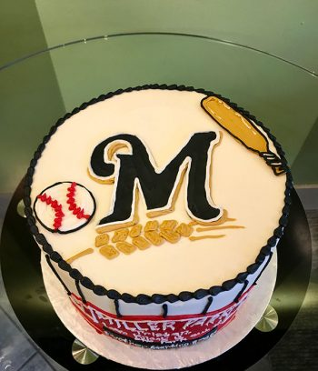 Sports Team Layer Cake - Milwaukee Brewers