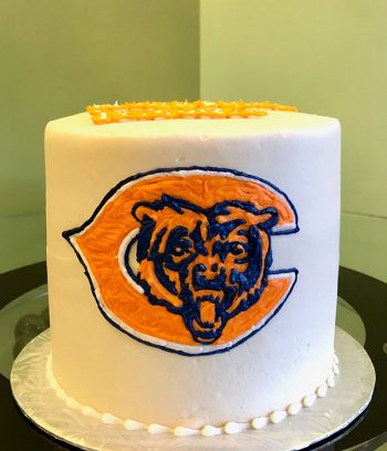Sports Team Layer Cake - Chicago Bears