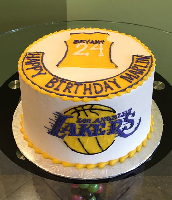 Sports Team Layer Cake - Los Angeles Lakers
