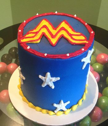 Wonder Woman Layer Cake - Side