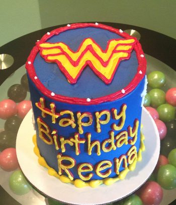 Wonder Woman Layer Cake