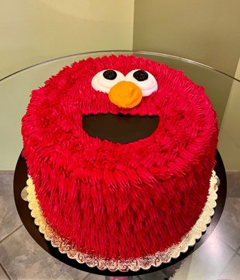 Elmo Layer Cake