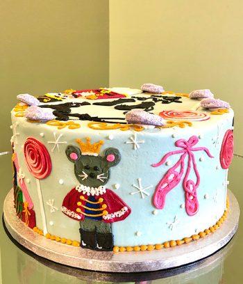 Nutcracker Layer Cake
