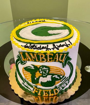 Sports Team Layer Cake - Green Bay Packers