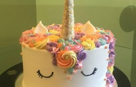 Unicorn Layer Cake - Pastal