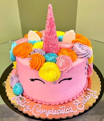 Unicorn Layer Cake - Pink
