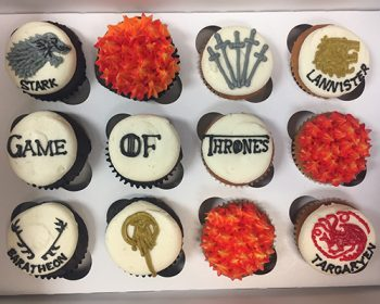 Game of Thrones Cupcakes