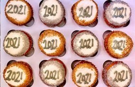New Years Cupcakes - 2021