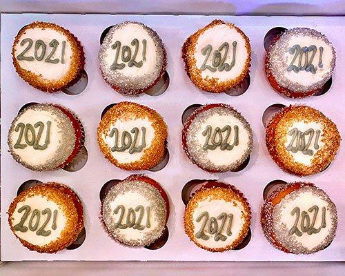 New Years Cupcakes - 2021