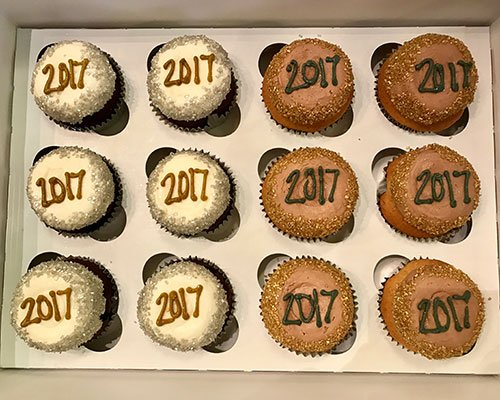 New Years Cupcakes - 2017