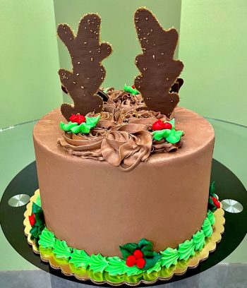 Reindeer Layer Cake - Back
