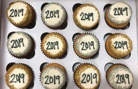New Years Cupcakes - 2019